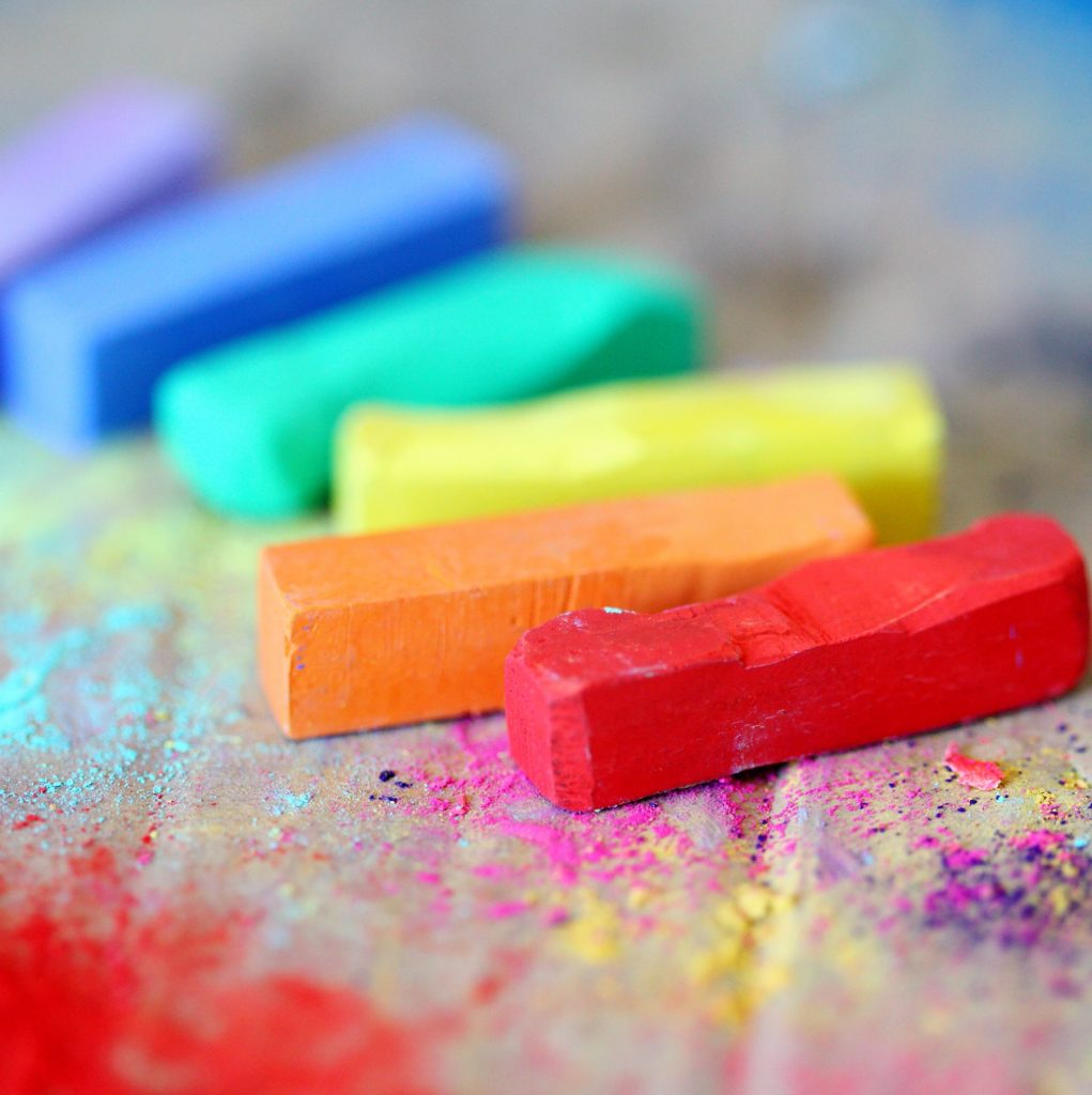 Why not let God make the difference by giving Him the crayons to color in your life?