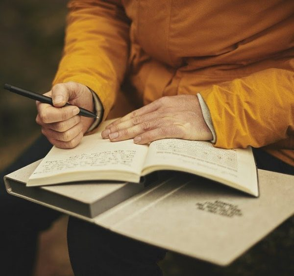 Another way to hear the voice of God is to journal.